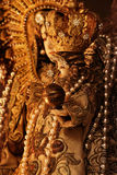 Virgen Maria y Jesús Imagenes de archivo