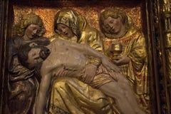 Virgen Mary mit ihrem Sohn Lizenzfreies Stockbild
