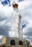 Virgen Mary Statue en Perú Fotografía de archivo