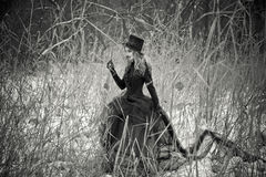 Virgen negra Imagen de archivo