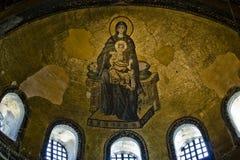 Virgen y el niño Imagen de archivo