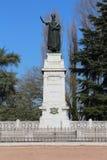 Virgilio monument, mantua, italy. Original photo virgilio monument, mantova Stock Photo