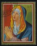 Virgin που προσεύχεται από το Albrecht Durer Στοκ φωτογραφία με δικαίωμα ελεύθερης χρήσης