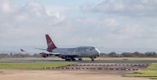 Virgin το ατλαντικό Boeing 747 Στοκ φωτογραφία με δικαίωμα ελεύθερης χρήσης