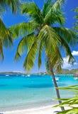 virgin островов гавани втихомолку Стоковое Фото