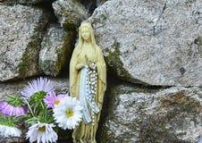 virgin статуи mary Стоковое Изображение