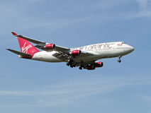 Virgin Atlantic Airlines stock image