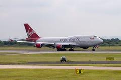 Virgin Atlantic Boeing 747-400 Royalty Free Stock Images