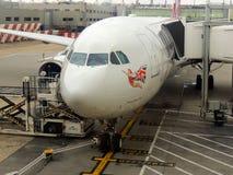 Virgin Atlantic flygbuss A330 Royaltyfria Bilder
