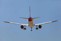 Virgin Atlantic Jet Landing at LAX Stock Photos