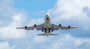 Virgin Atlantic just taken off Royalty Free Stock Image