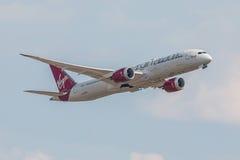 Virgin Atlantic nivå Royaltyfri Bild