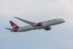 Virgin Atlantic nivå Arkivbilder
