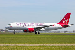 Virgin Atlantic Royalty Free Stock Photography