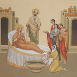 Virgin birth Royalty Free Stock Photos