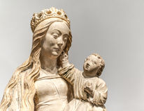 The Virgin and Child - 1475 Royalty Free Stock Photo