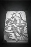 Virgin and Child Stock Photo