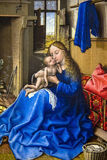 Virgin and Child  at the National Gallery of London Royalty Free Stock Images