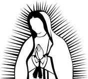 Virgin de Guadalupe Imagem de Stock Royalty Free