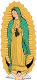 Virgin de Guadalupe Imagens de Stock
