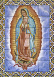 Virgin de Guadalupe Imagens de Stock Royalty Free