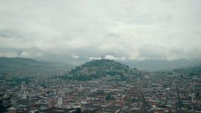 Virgin de Quito Equador video estoque