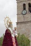 Virgin del Rosario in Torrejon de Ardoz Stock Images
