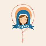 Virgin design Royalty Free Stock Images