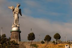 Virgin of El Panecillo Royalty Free Stock Photos