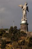 Virgin of El Panecillo Royalty Free Stock Images