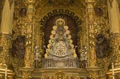 Virgin of El Rocío statue Stock Images