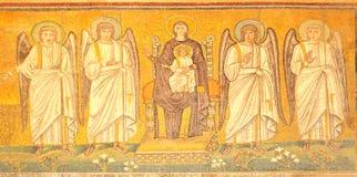 Virgin en Jesus Royalty-vrije Stock Afbeeldingen