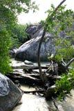 virgin gorda пляжа ванн Стоковые Фотографии RF