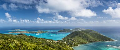 Virgin Gorda Arkivfoton