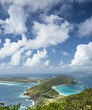 Virgin Gorda. In the British Virgin Islands of the Carribean stock photo