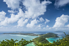 Virgin Gorda. In the British Virgin Islands of the Carribean stock image