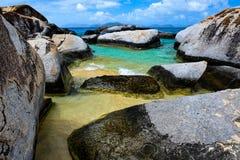 Virgin Gorda, Isole Vergini Britanniche fotografia stock