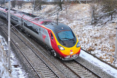 Virgin High Speed Train. On the West coast line Royalty Free Stock Images