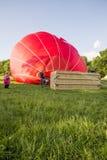 The Virgin Hot Air Balloon Stock Photography