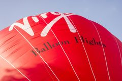 The Virgin Hot Air Balloon Royalty Free Stock Images