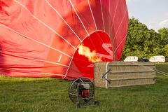 The Virgin Hot Air Balloon Stock Photography
