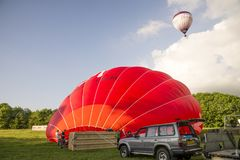 The Virgin Hot Air Balloon Stock Photos