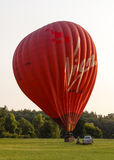 The Virgin Hot Air Balloon Stock Photo
