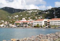 Virgin Island Town Stock Photo
