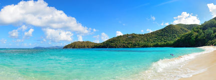 Virgin Islands Beach Royalty Free Stock Image