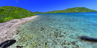 Virgin Islands Coastline Stock Image