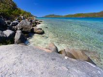 Virgin Islands Coastline Royalty Free Stock Images