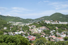 Virgin Islands Town Stock Photo