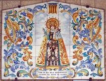 virgin jesus mary младенца Стоковая Фотография RF