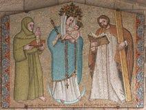 virgin jesus mary младенца Стоковое фото RF